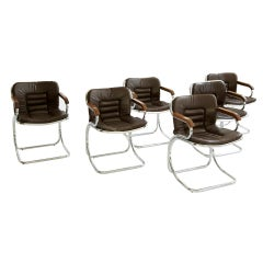 Set of 6 Mariani Dining Chairs