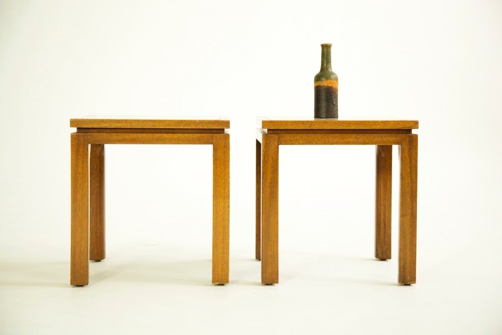 Harvey Probber End Tables In Excellent Condition For Sale In Chicago, IL