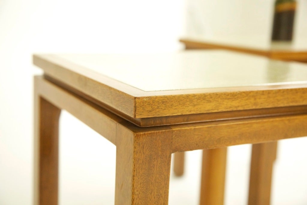 Steel Harvey Probber End Tables For Sale