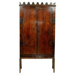 Late 18th Century Colonial Jacaranda Wood Trastero from Brazil