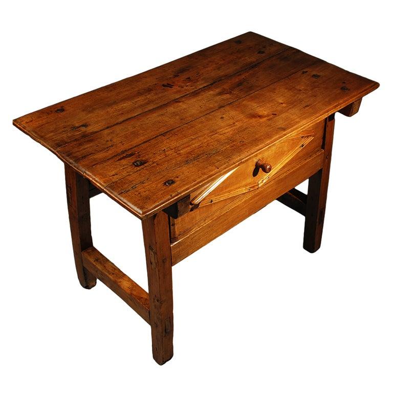 Antique mexican red cedar hacienda table circa at