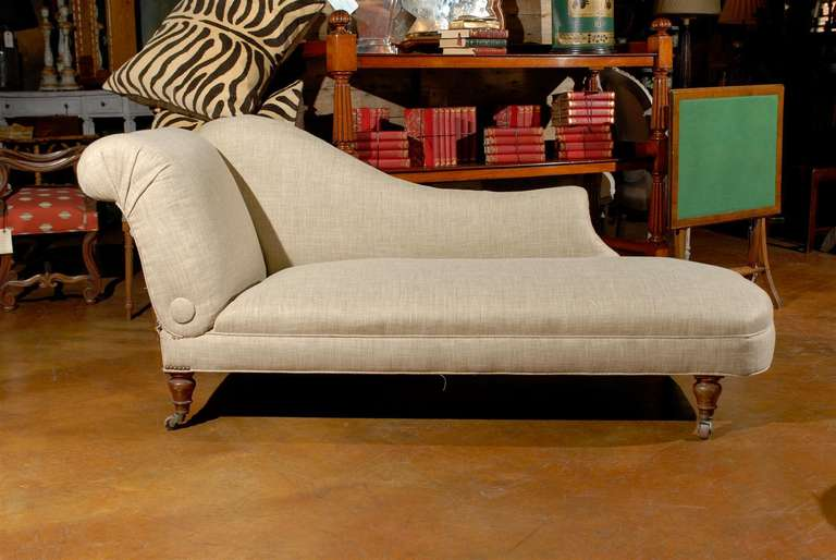 French ratchet chaise lounge at 1stdibs for Chaise lounge atlanta