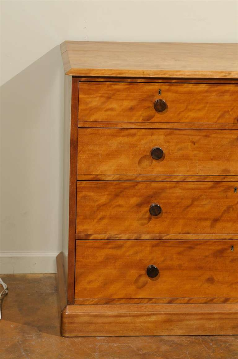 Gillows Satinwood and Birch Dresser at 1stdibs