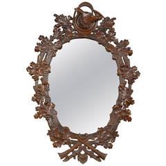 Black Forest Fox Mirror