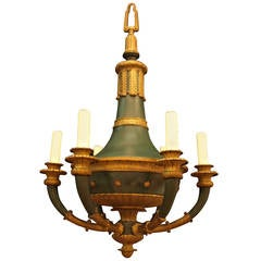 Antique Chandelier. Empire Style Chandelier