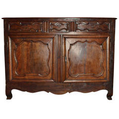 Antique French Provincial Style Buffet