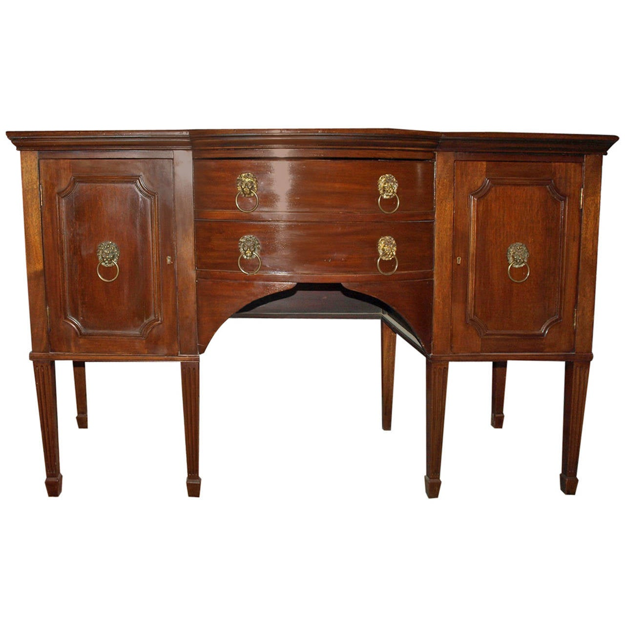 Antique English Sideboard For Sale At 1stdibs