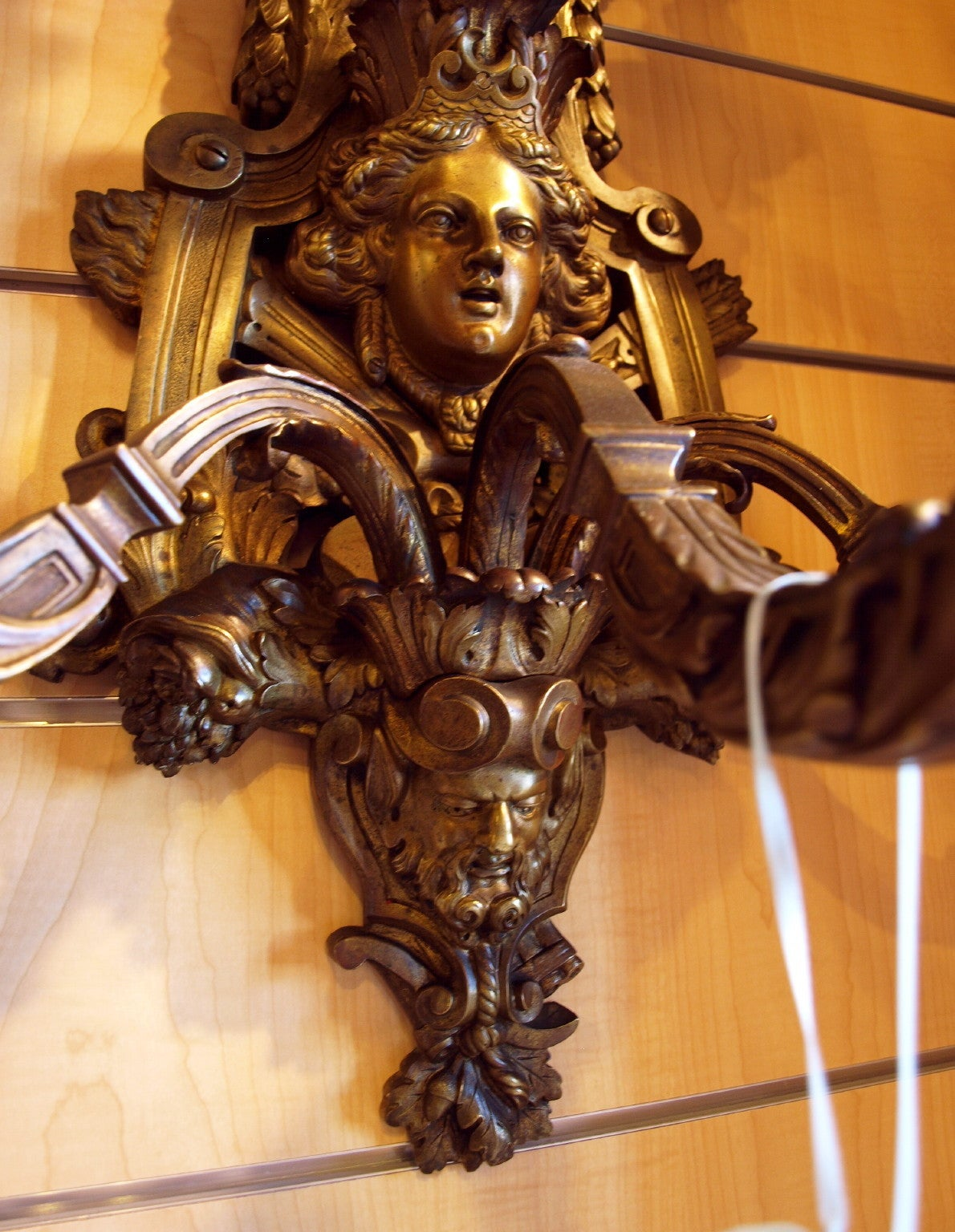 Early 20th Century Antique Regence sconces For Sale