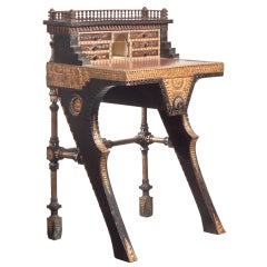 Carlo Bugatti Writing Desk