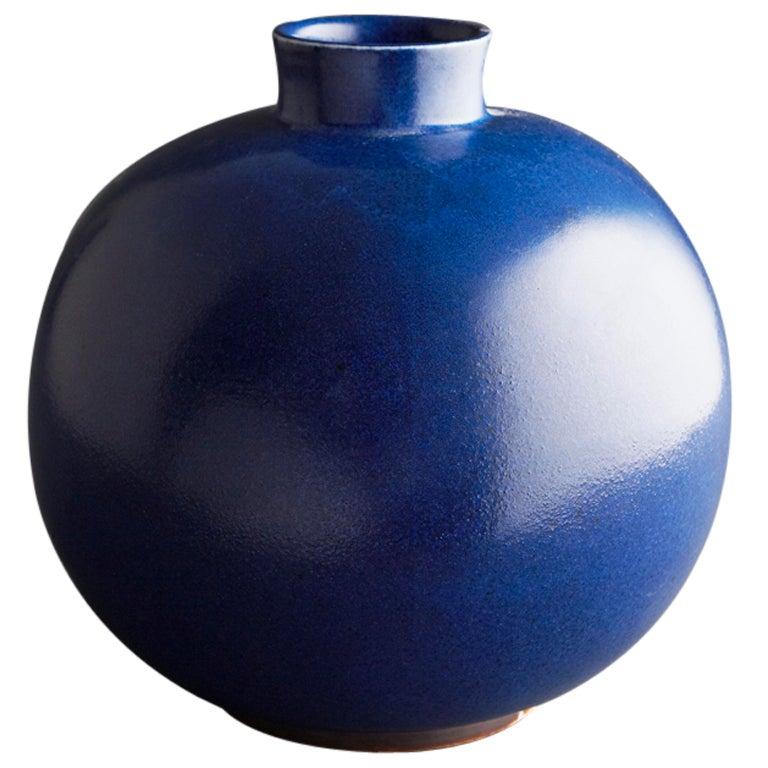 Saxbo Large Cobalt Blue Vase At 1stdibs