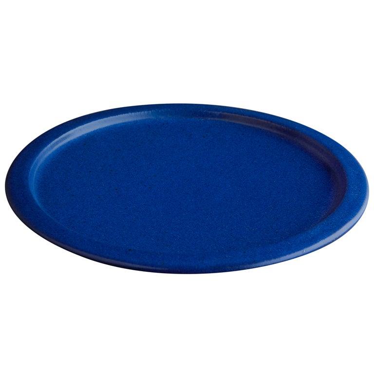 Saxbo Cobalt Blue Plate At 1stdibs