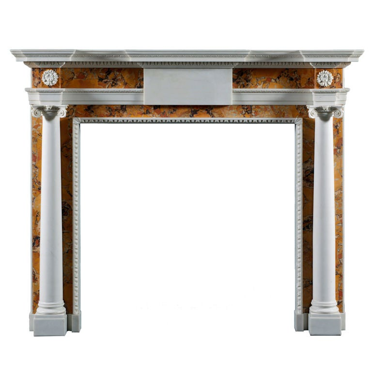 The Derrymore chimneypiece mantle For Sale