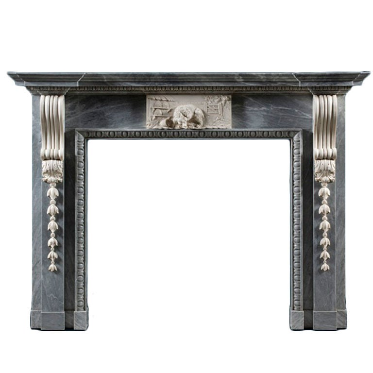 Bradley Chimneypiece Mantel For Sale