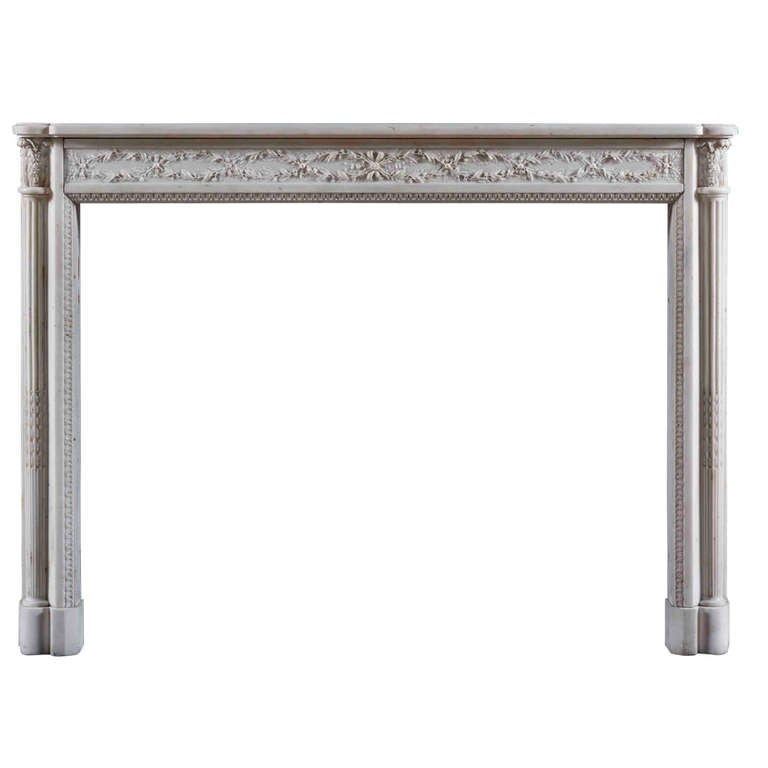 Antique Early 19th Century Fireplace Mantle