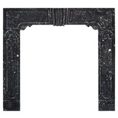 Early 18th Century Irish Fireplace Mantel in the Manner of William Colles
