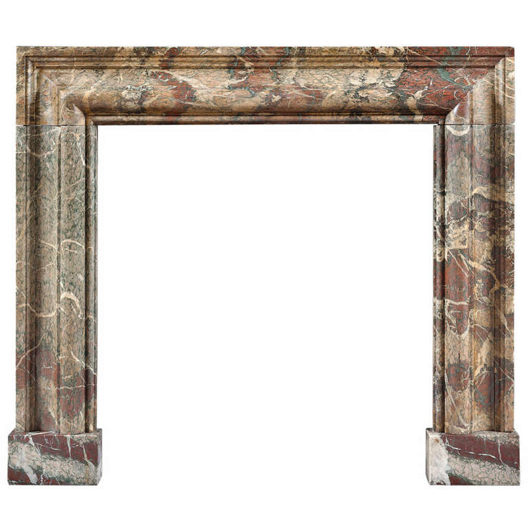 antique 19th century campana marble collection fireplace