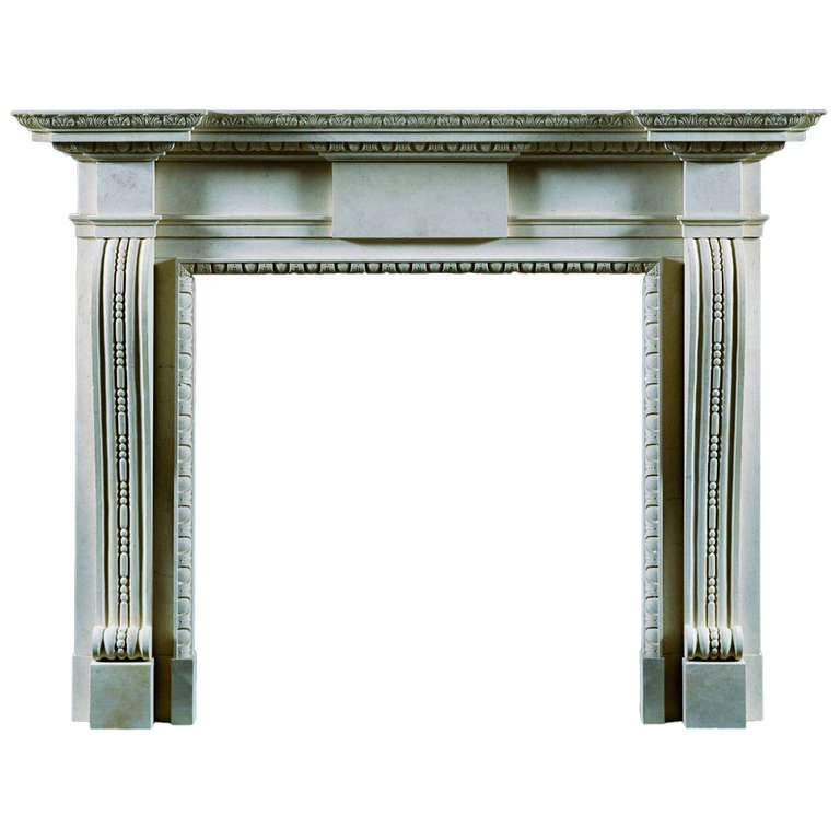 Chesham Reproduction Fireplace Mantel For Sale