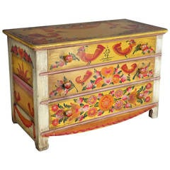 Rare and Scarce Cape Cod Folk Art Modernist Chest of Drawers
