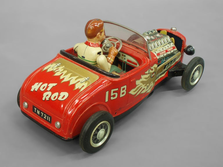 Tin Lithographed Hot Rod Toy Car 2