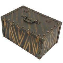 Dresser Top Riveted Strong Box