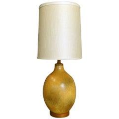 Nicely Glazed Large Warm Tone Table Lamp
