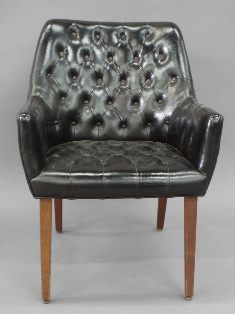 Diamond Tufted Dining Chair