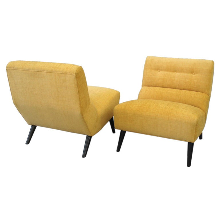 Pair Atomic Age Lounge Chairs by Selig pany at 1stdibs
