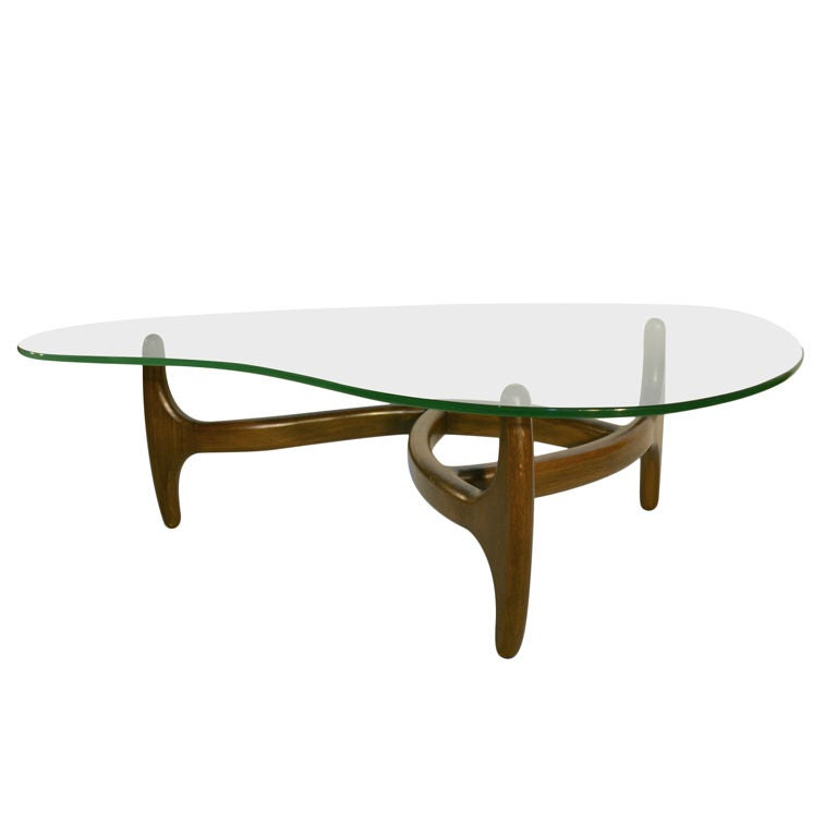 Https Www 1stdibs Com Furniture Tables Coffee Tables Cocktail Tables Adrian Pearsall Free Form Glass Top Coffee Table Id F 527623