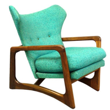 Atomic Age Lounge Chair By Adrian Pearsall At 1stdibs