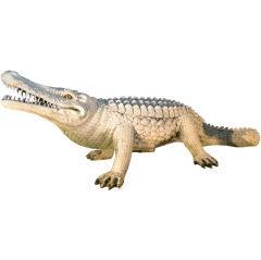 Folk Art Alligator - cast synthetic
