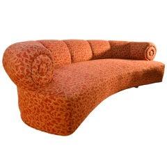 Large scale Art Deco sofa