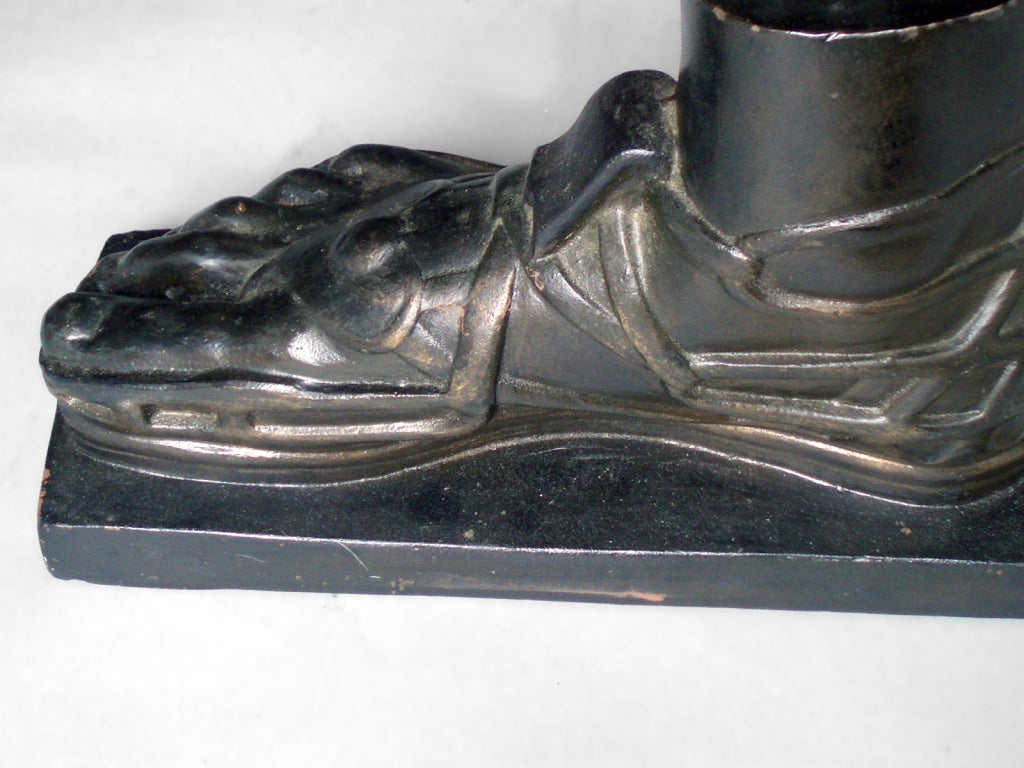 Bronzed Early 20th Century Cast Iron Trade Stimulator For Sale