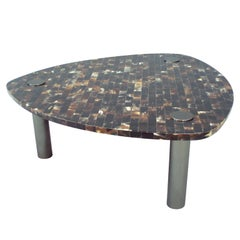Tessalated Horn Tricorn Cocktail Table