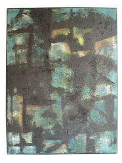 Abstract Oil Painting on Canvas by Robert Berger