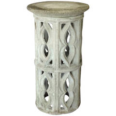 Cement Outdoor Pedestal