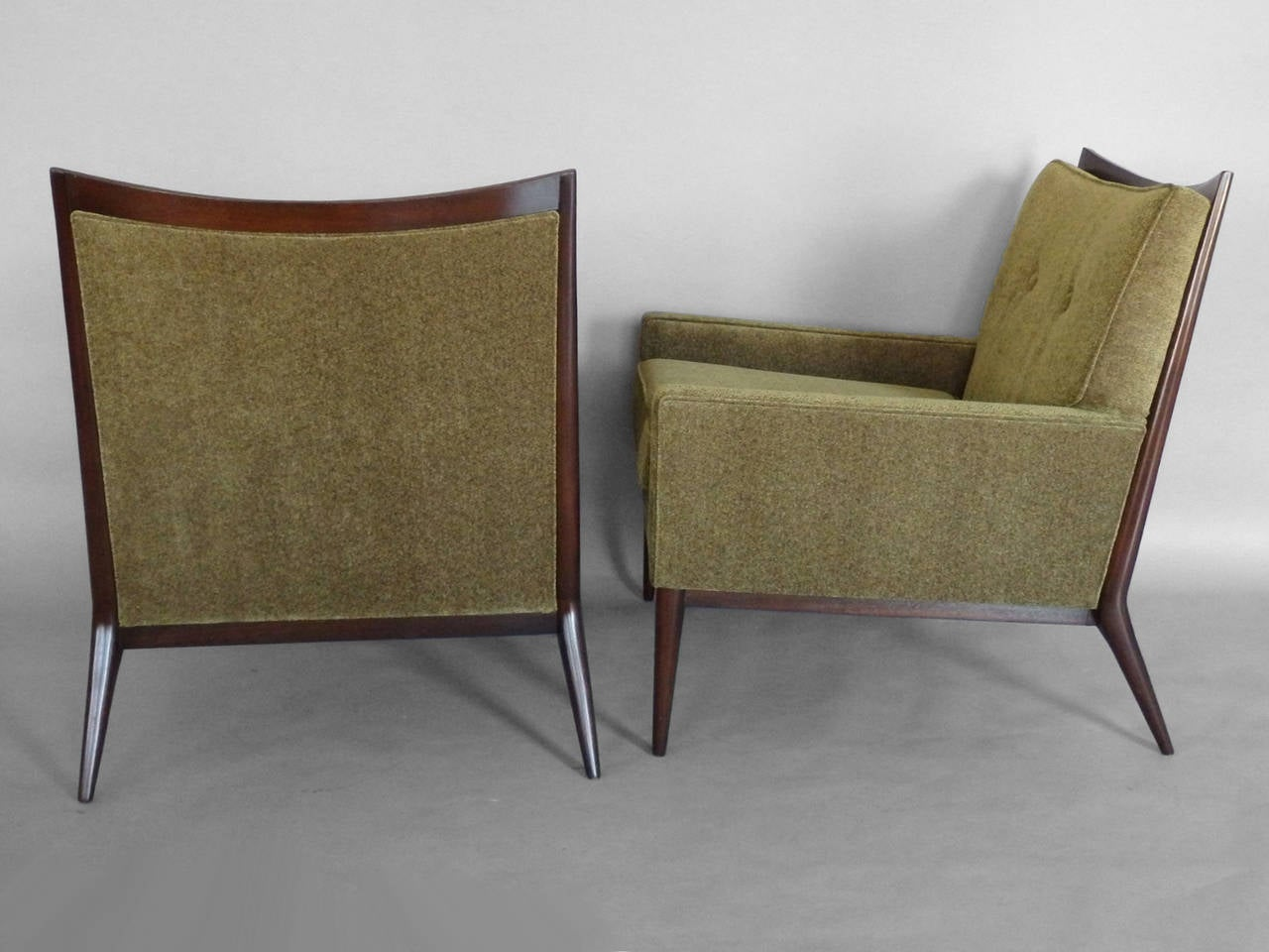 Mid-Century Modern   Pair of Paul McCobb  Lounge Chairs For Sale