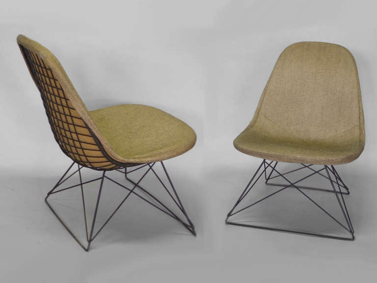 Pair Of Cats Cradle Lounge Chairs By Possibly The Most Prolific Mid Century  American Designers Charles
