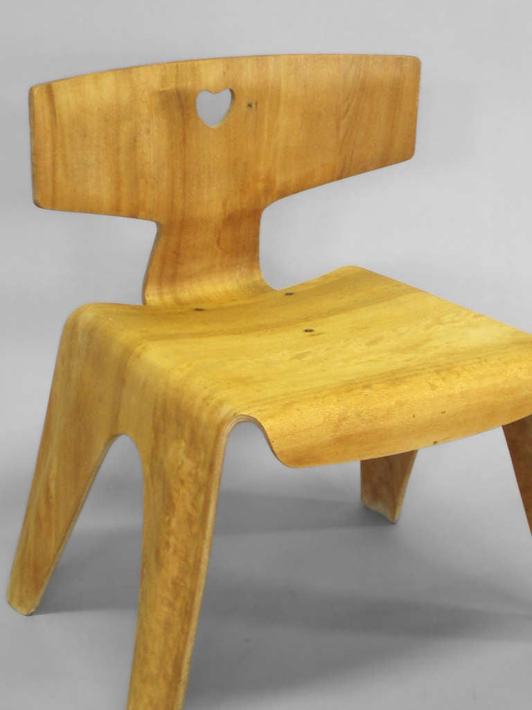 Charles Eames Molded Plywood Child s Chair at 1stdibs
