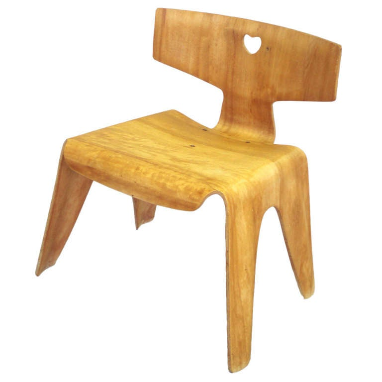 Charles Eames Molded Plywood Childs Chair at 1stdibs