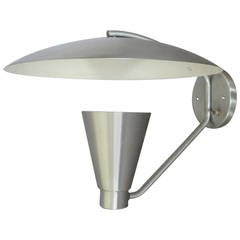 Aluminum Cone with Deflector Wall Sconce
