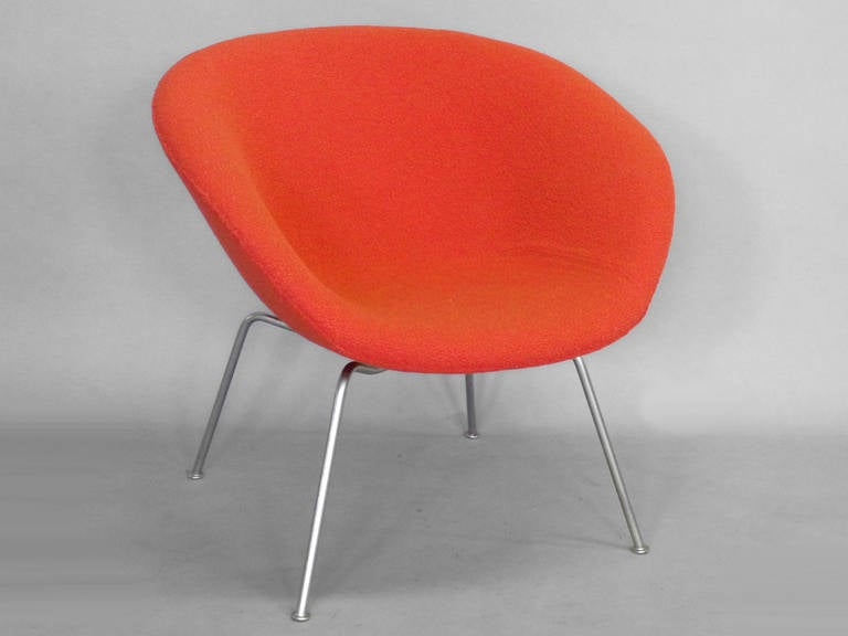 Pair Of Arne Jacobsen Pot Chairs For Sale At 1stdibs