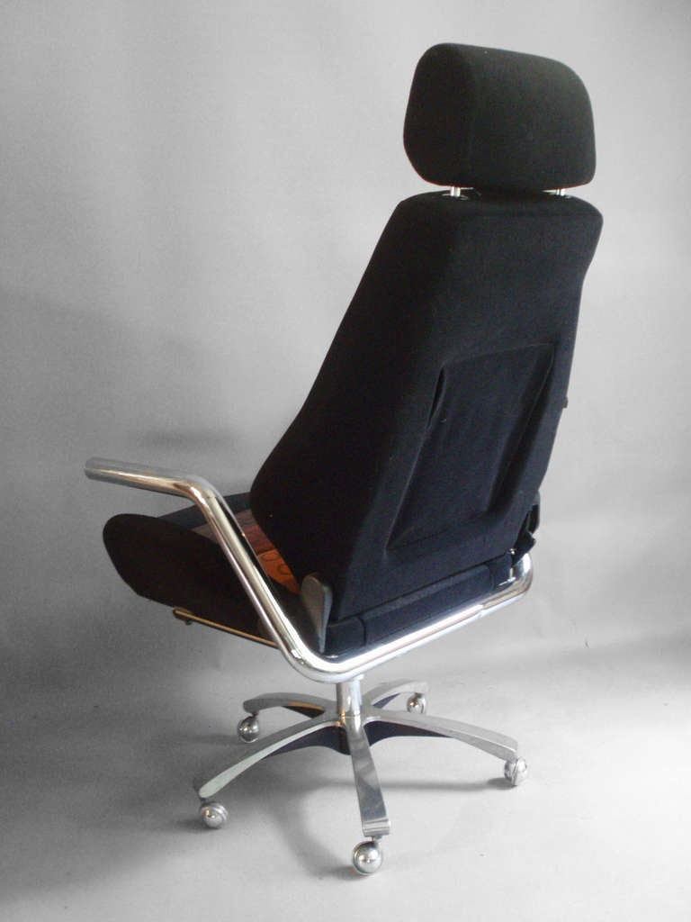race car style executive swivel desk chairrecaro at 1stdibs