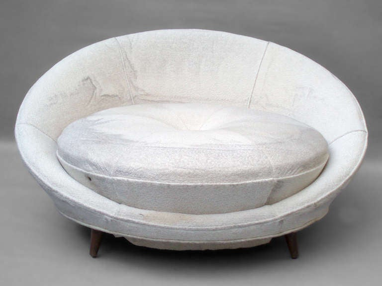 White Saucer Chair | galleryhip.com - The Hippest Galleries!