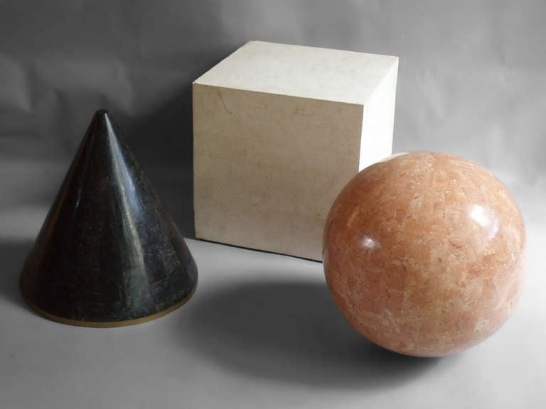 American Tessalated Geometric Forms by Maitland Smith