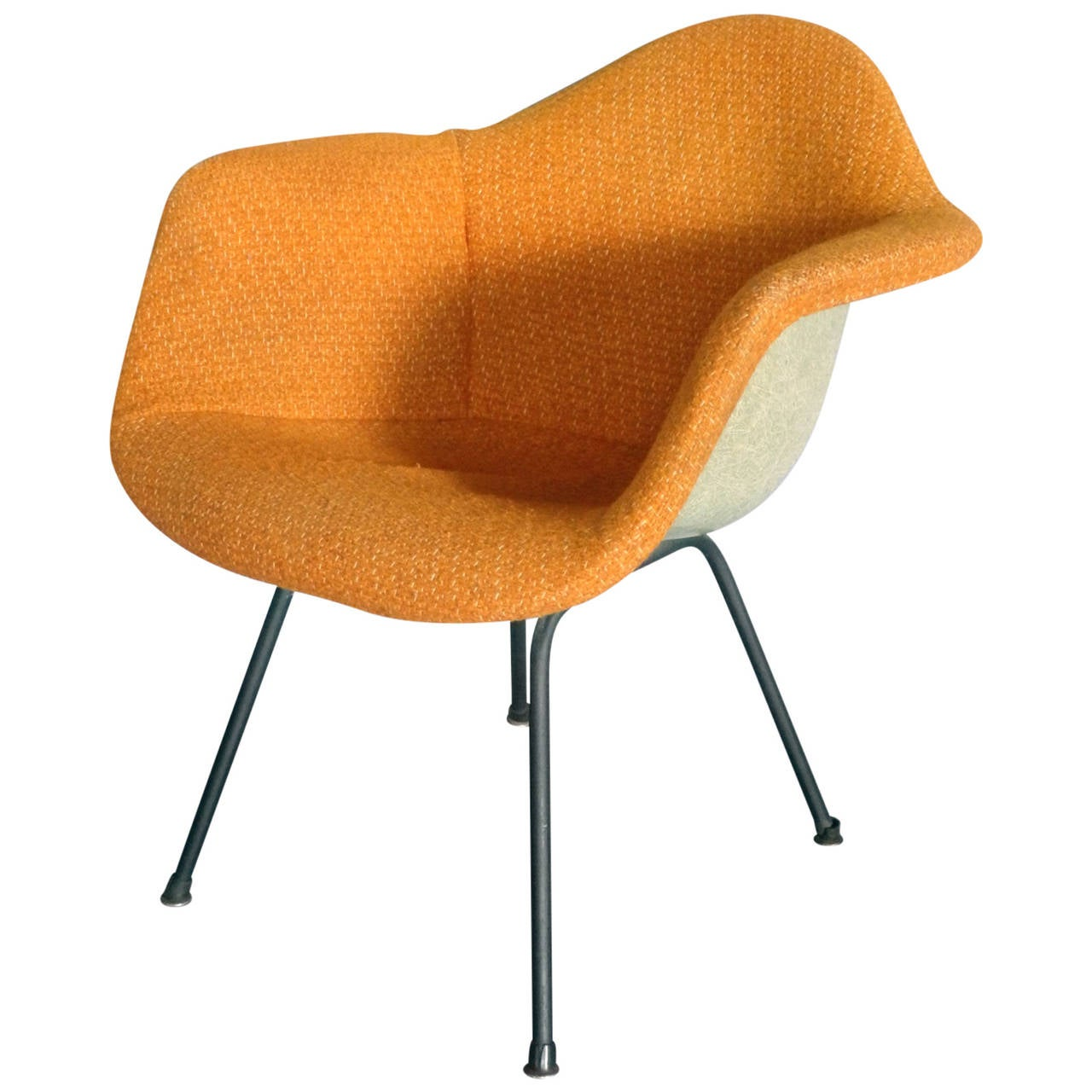 Transitional Eames Upholstered Chair For Sale at 1stdibs