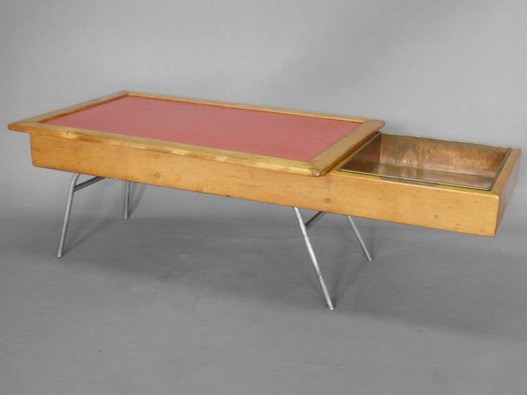 Early And Rare George Nelson Model 4662 Coffee Table For Sale At 1stdibs