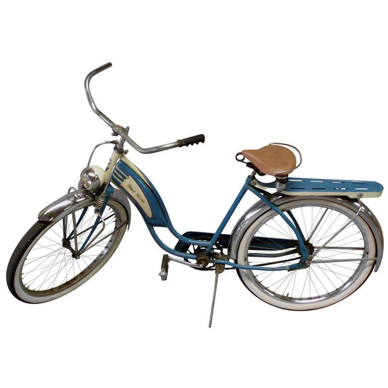 Ladies Balloon Tire Springer Front Bicycle