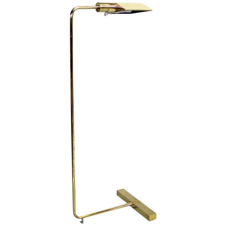 Multi adjustable reading lamp by cedric hartman at 1stdibs for Floor lamp with dual reading lights