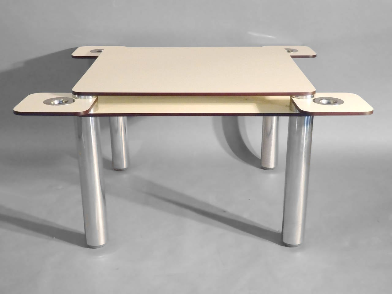 post modernist furniture. Post Modern Italian Poker Game Table With Four Swivel Chairs By Joe Columbo 2 Modernist Furniture C