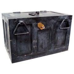 Iron Strong Box Treasure Chest